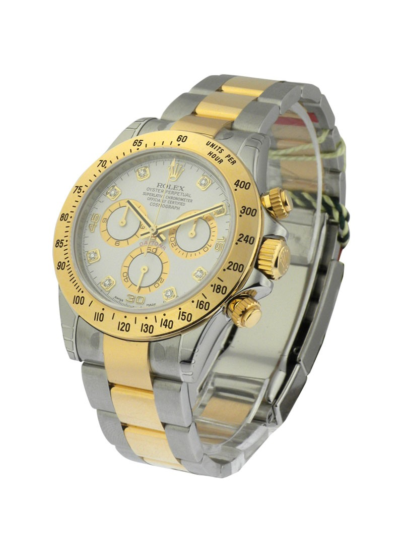Rolex Unworn Daytona Cosmograph 2 Tone in Steel with Yellow Gold Bezel