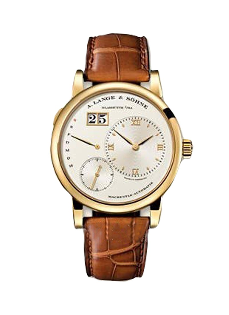 A. Lange & Sohne Lange 1 Daymatic Automatic in Yellow Gold