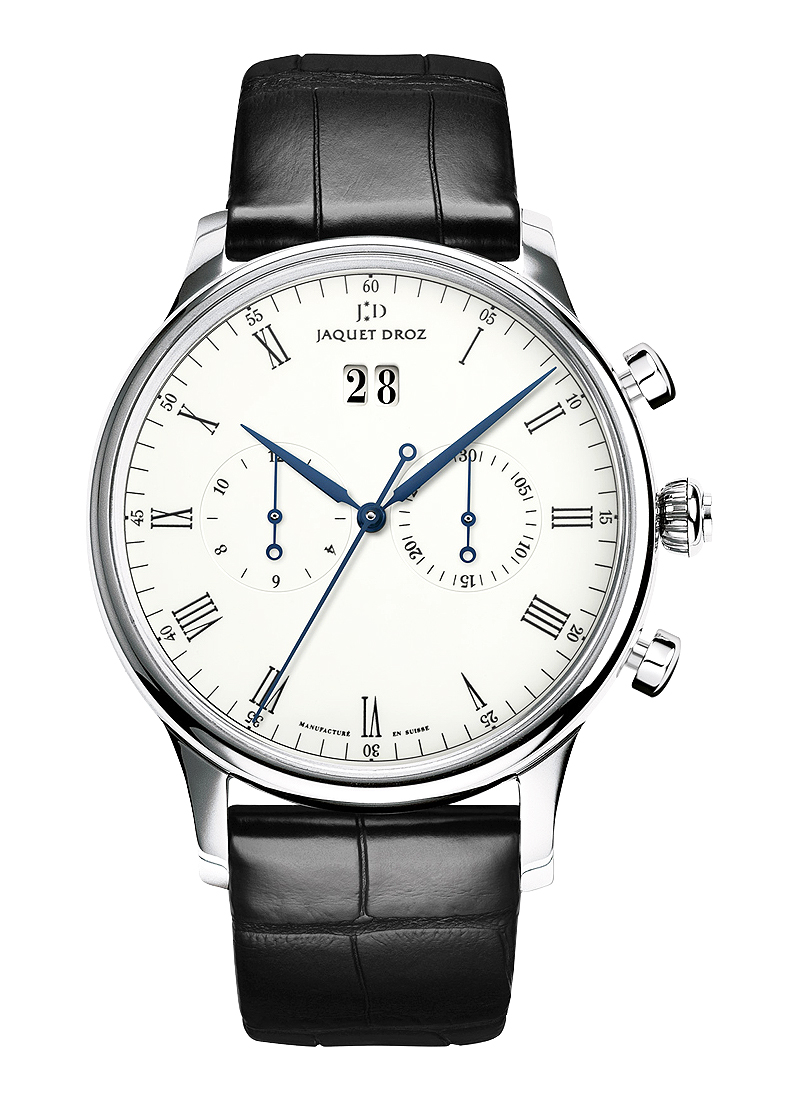 Jaquet Droz Chrono Grande Date in White Gold