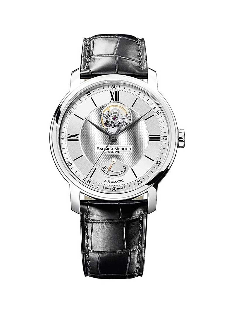 Baume & Mercier Classima Executives Power Reserve in Steel