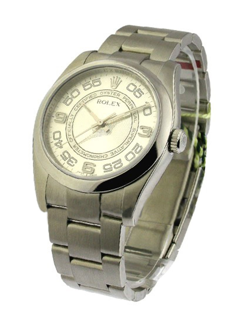 Rolex Unworn Oyster Perpetual 36mm Automatic In Stainless Steel