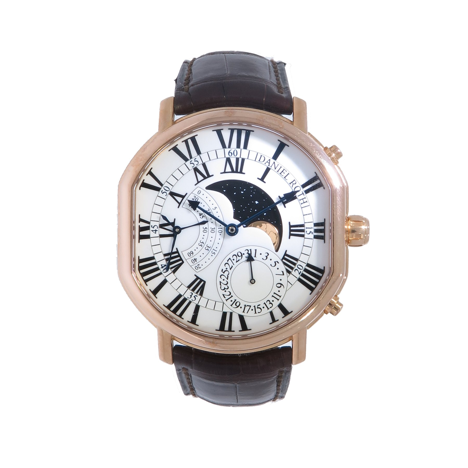 Daniel Roth Athys III Moon in Rose Gold