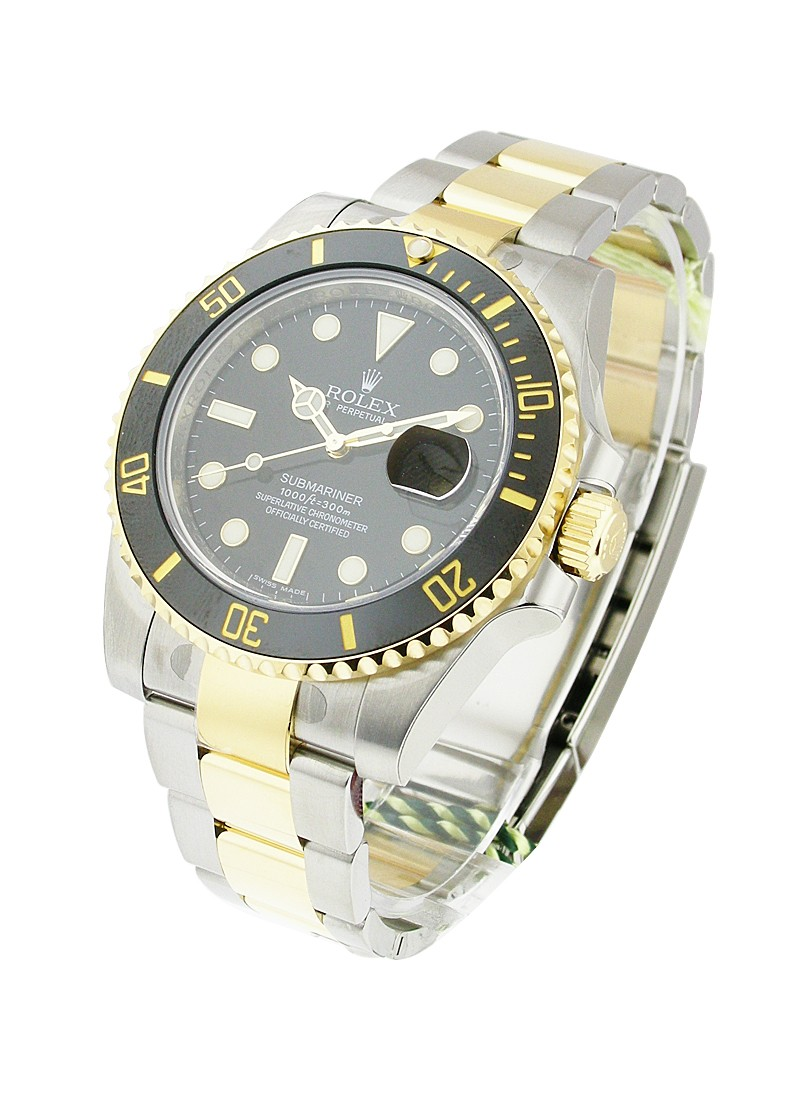 Rolex Unworn Submariner 40mm Automatic in Steel with Black Ceramic Bezel