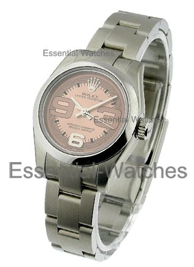 Rolex Unworn Oyster Perpetual No Date in Steel with Domed Bezel