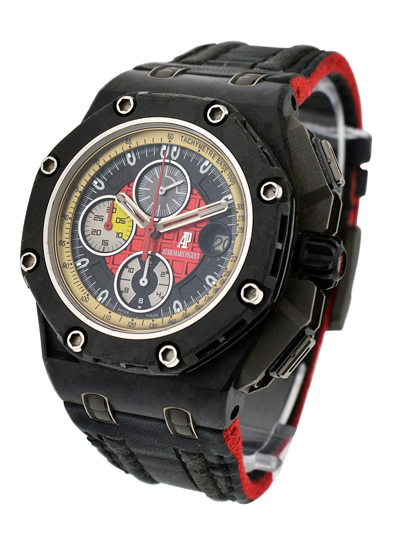 Audemars Piguet Royal Oak Offshore Grand Prix Chronograph in Black Carbon Fiber