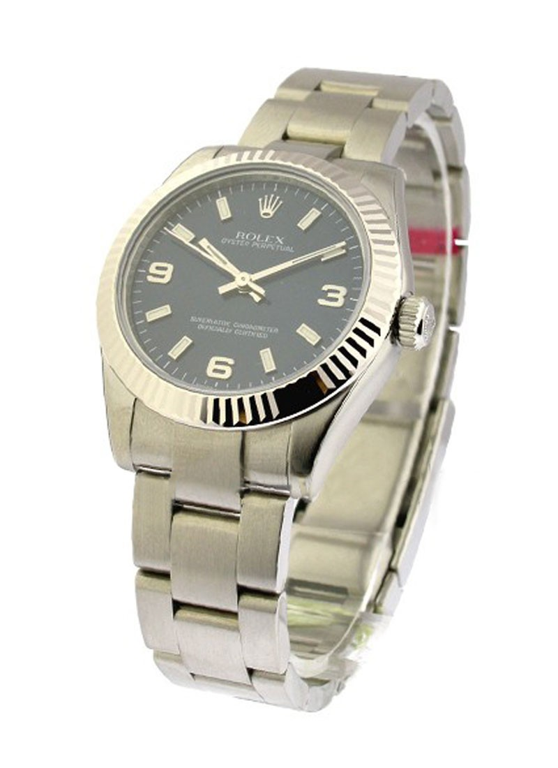 Rolex Unworn Mid Size No Date in Steel with Oyster Bracelet