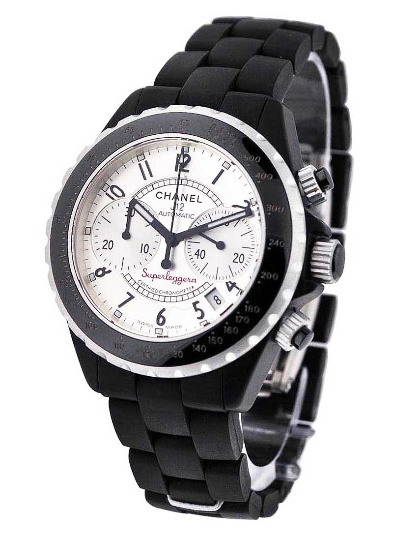 Chanel Superleggera Chronograph with Rubber Bracelet