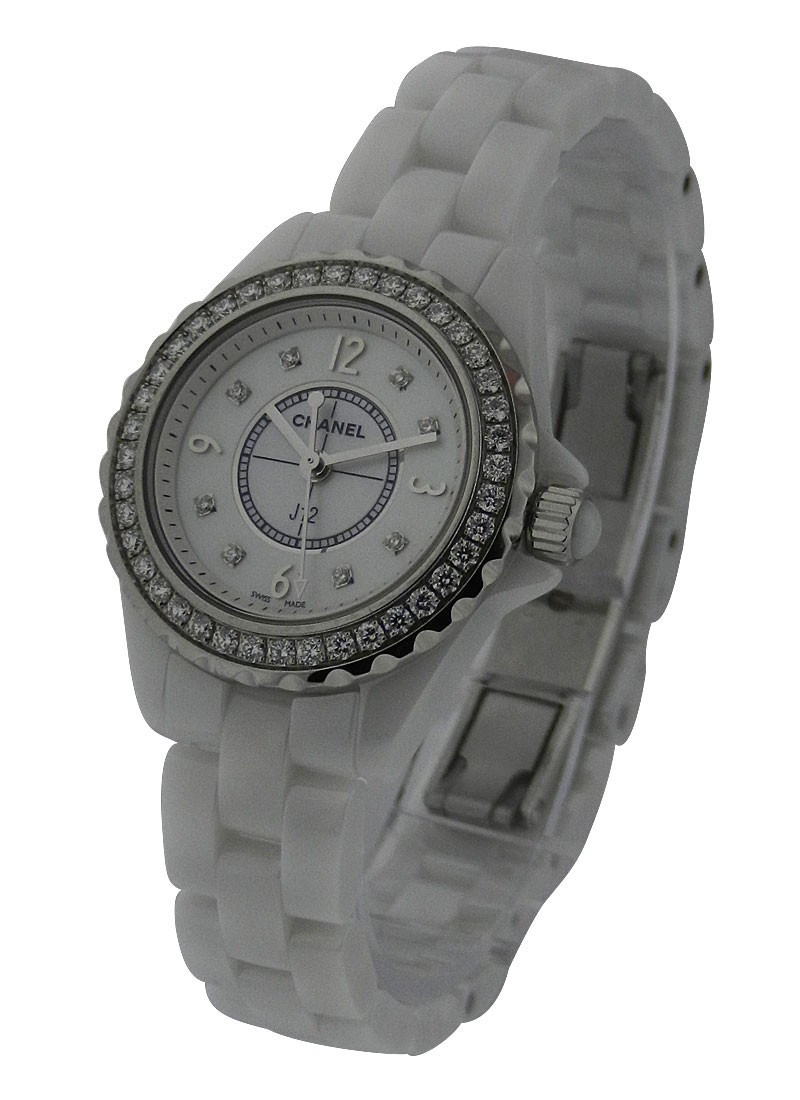 Chanel J12 H2572 With Mother of Pearl Dial
