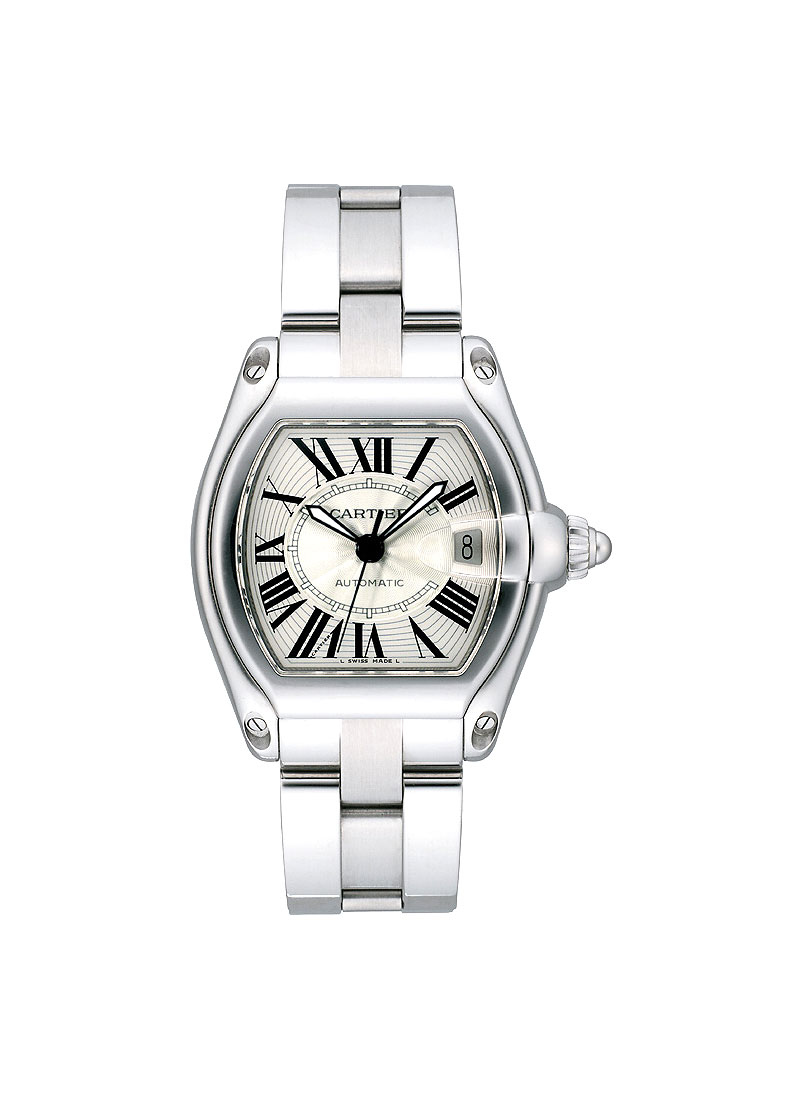 Cartier Mens Roadster Non Chronograph in Steel
