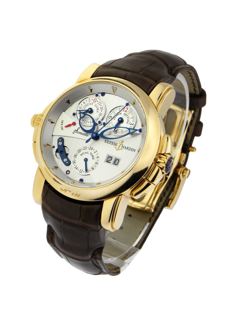 Ulysse Nardin Sonata Cathedral Mens Automatic in Rose Gold