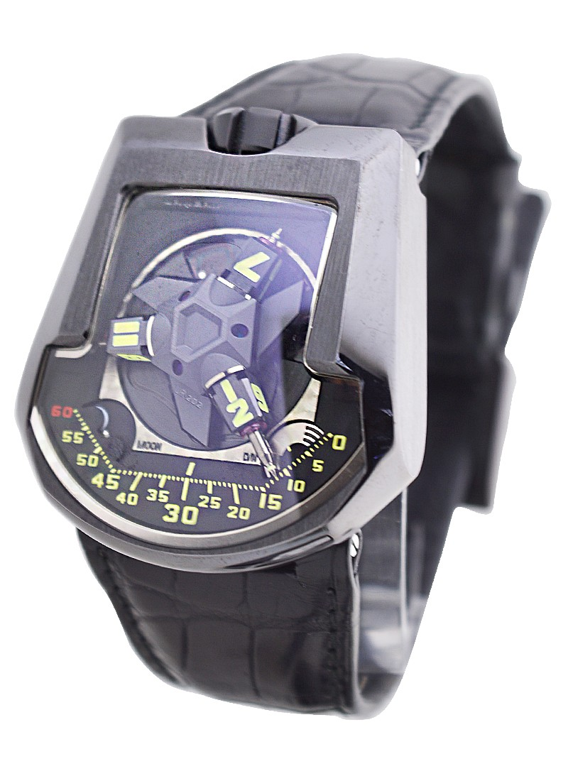 Urwerk 202 Black Platinum   Limited to 10Pcs