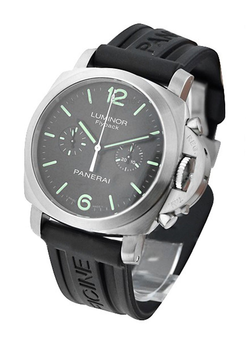 Panerai PAM 361 Luminor 1950 Flyback Chronograph Series in Steel