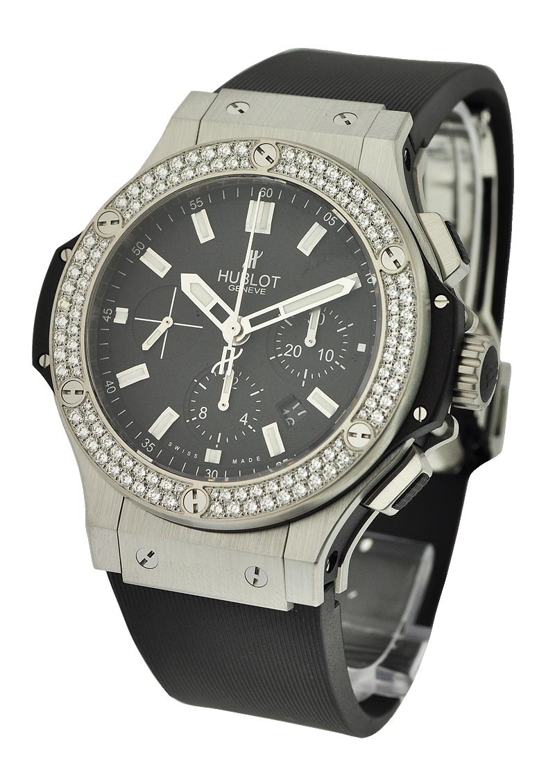 Hublot Big Bang Evolution 44mm with Steel  Diamond Bezel
