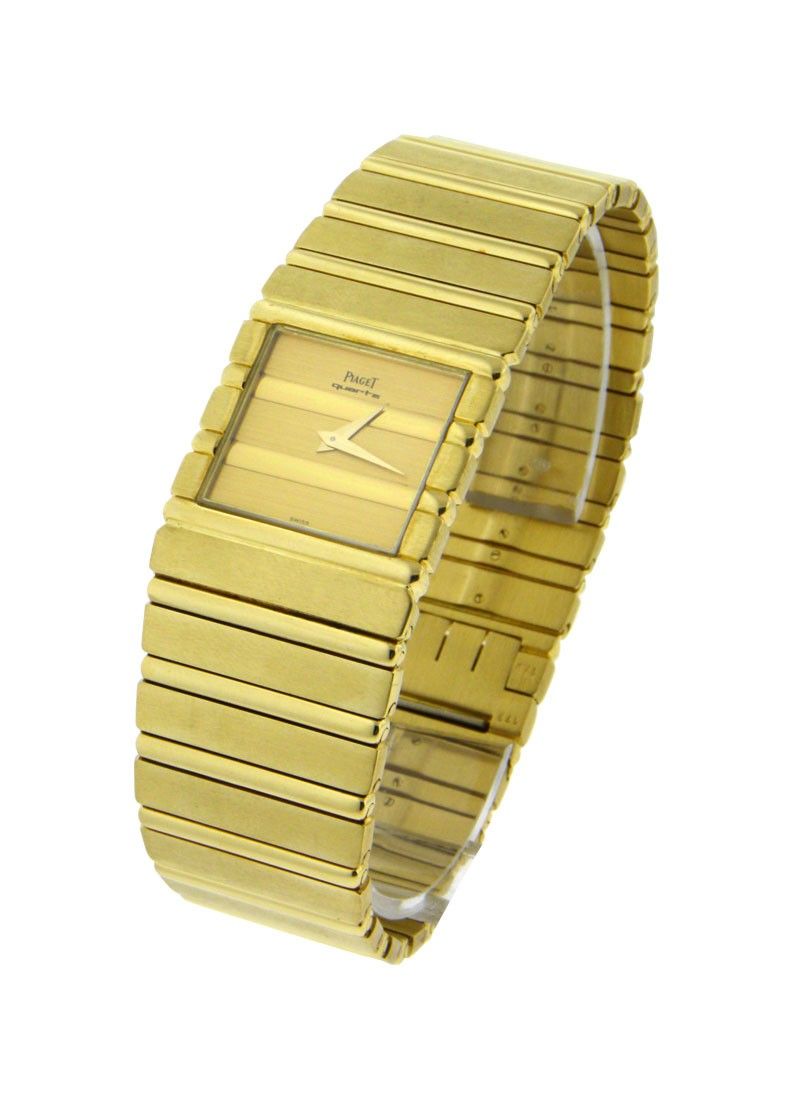 Piaget Piaget Mens Square Polo i Yellow Gold