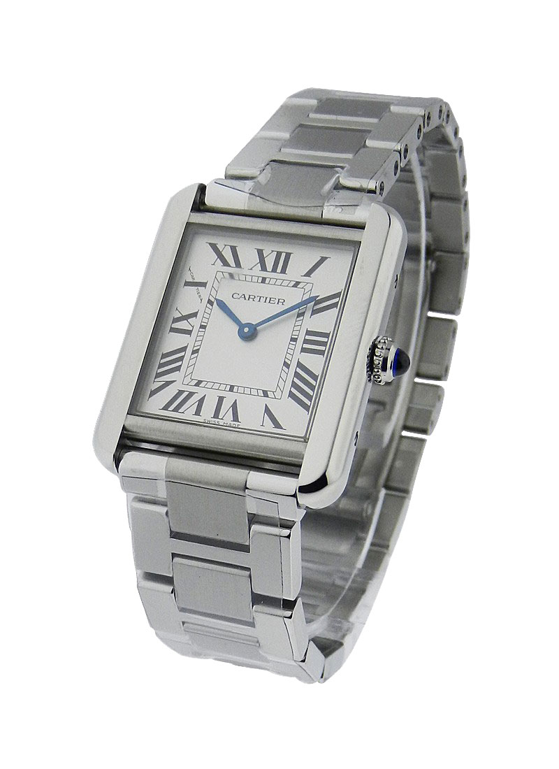 Cartier Tank Solo Small in Stainless Steel