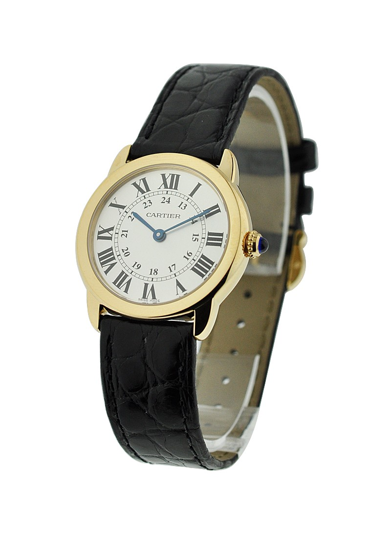Cartier Ronde Solo small size in Yellow Gold
