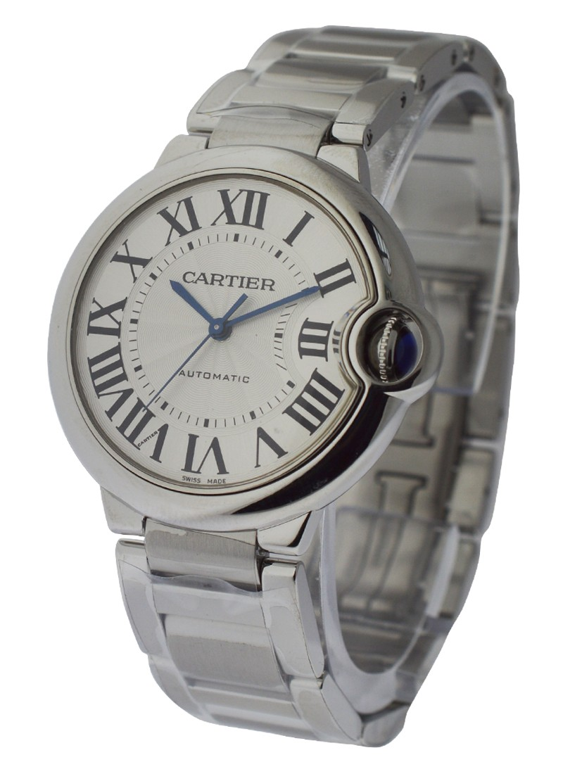 Cartier Ballon Bleu 36mm Mid Size in Steel