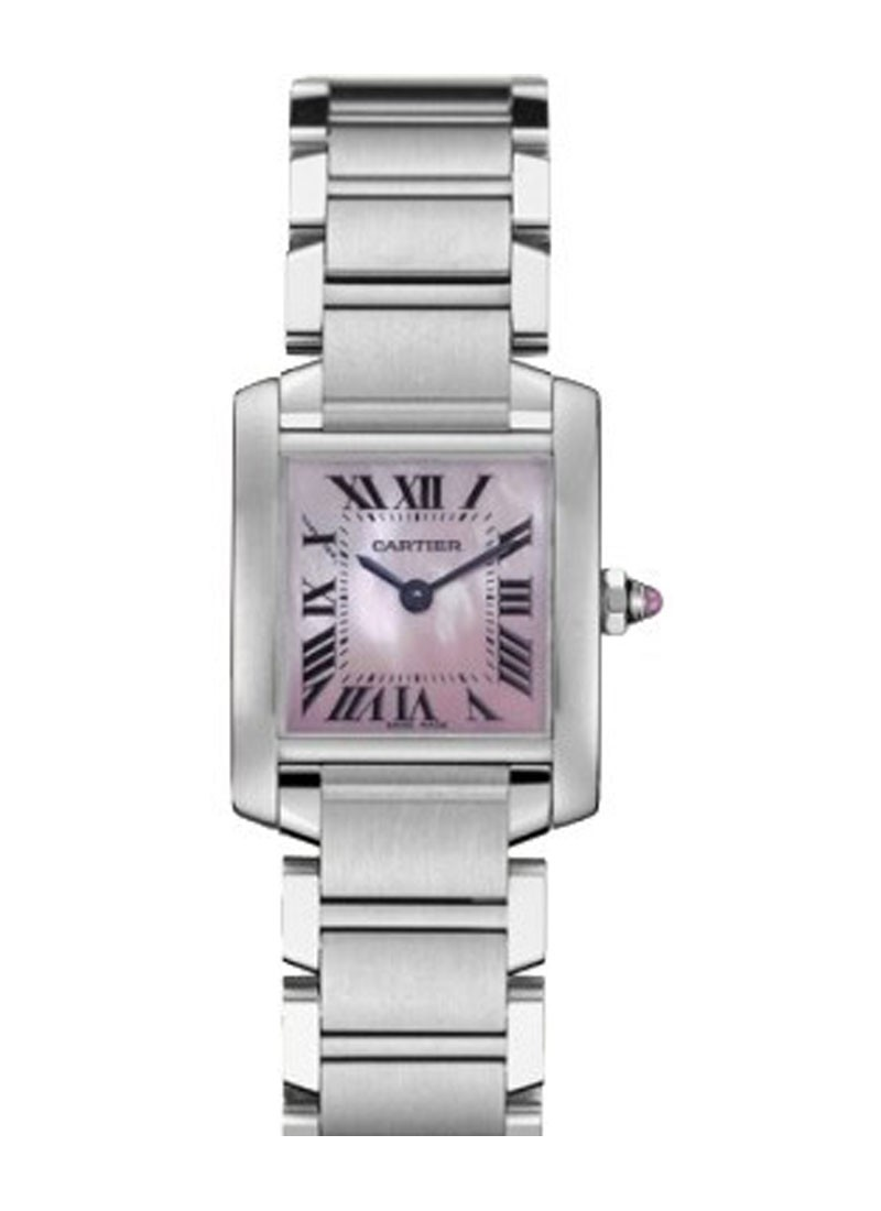 Cartier Tank Francaise Small Size in Steel