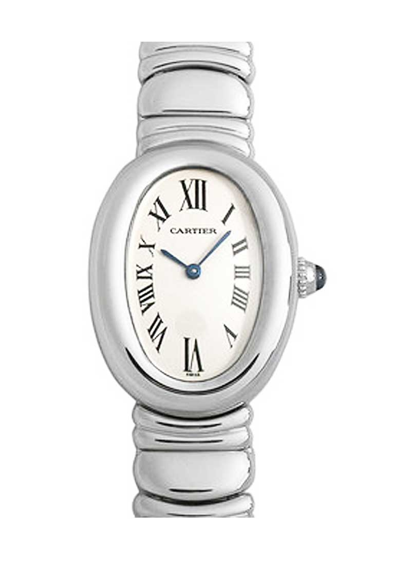Cartier Baignoire in White Gold