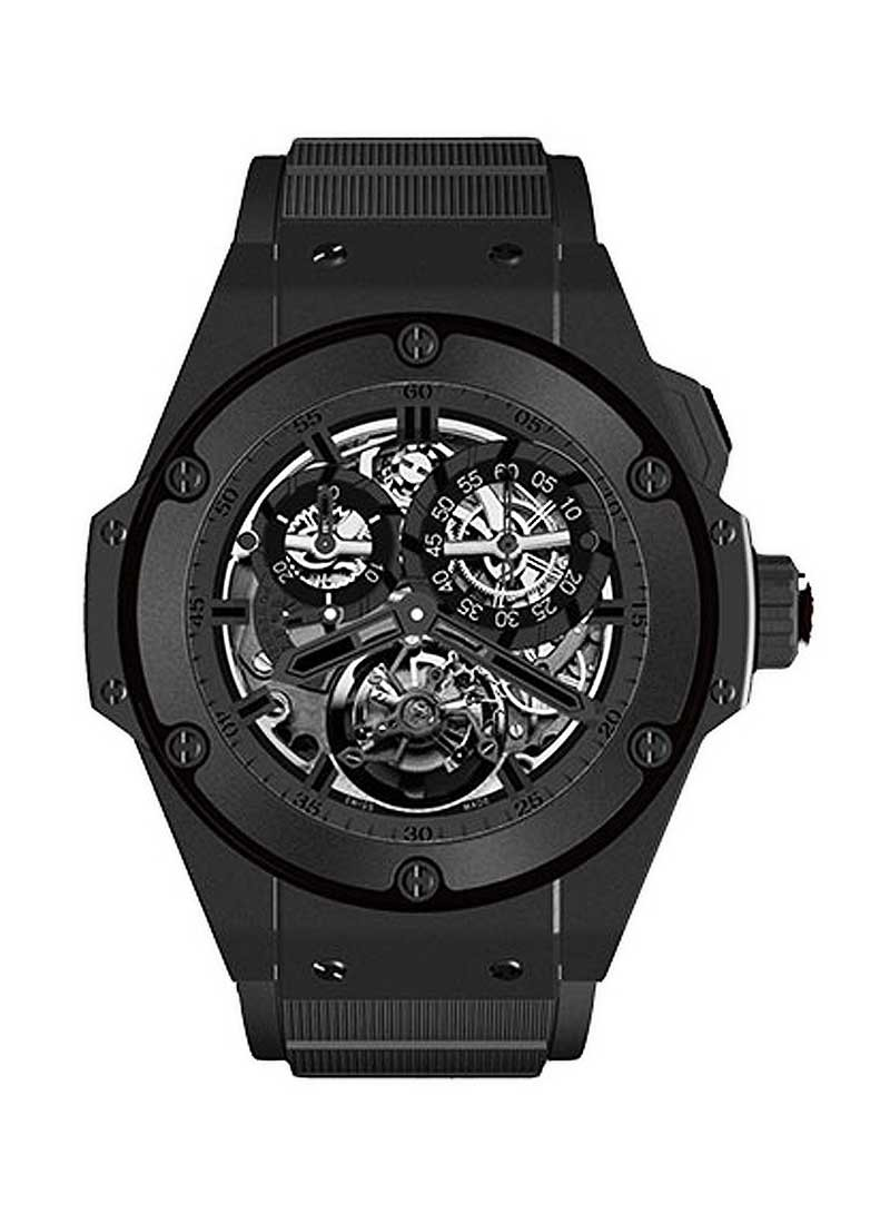 Hublot King Power All Black Tourbillon in Black Ceramic