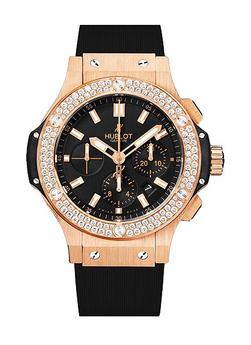 Hublot Big Bang Evolution 44mm with Diamond Bezel