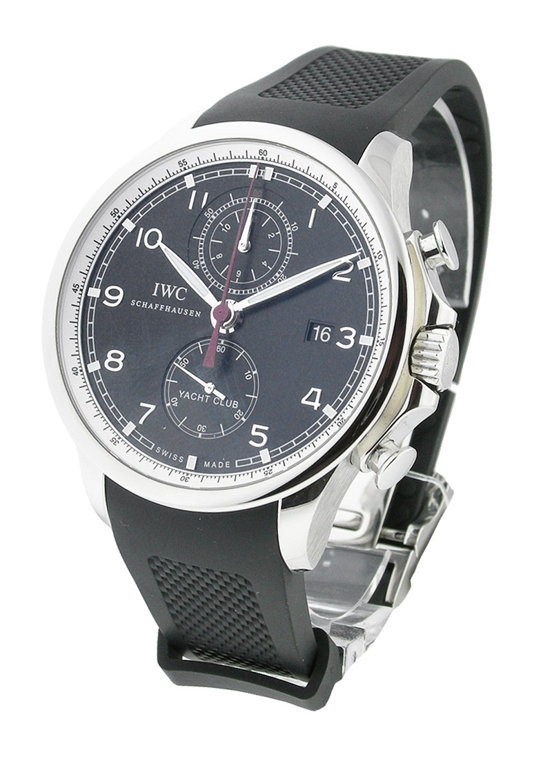 IWC Portuguese Yacht Club Chronograph in Steel