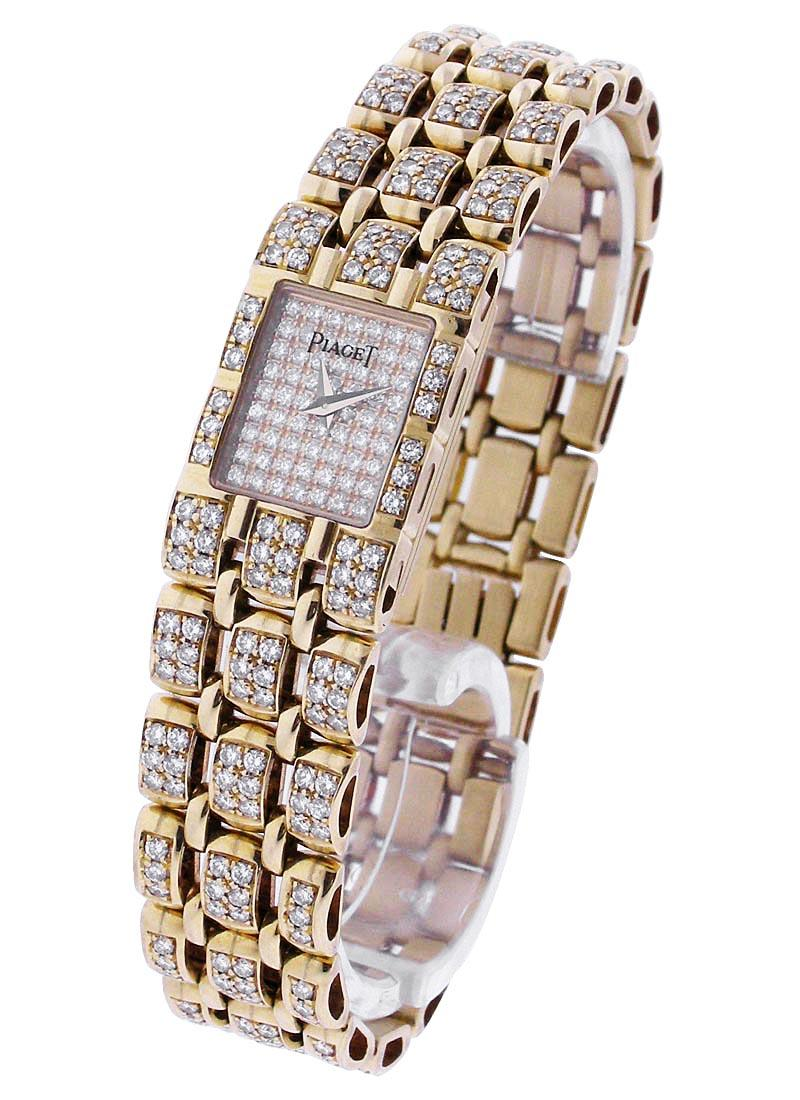 Piaget Lady's Classique with Full Pave Diamonds