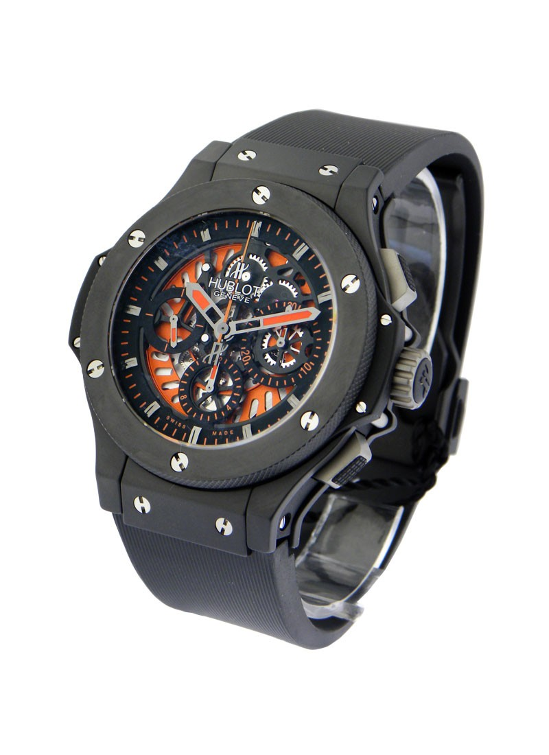Hublot Big Bang Aero Bang Orange in Black Ceramic