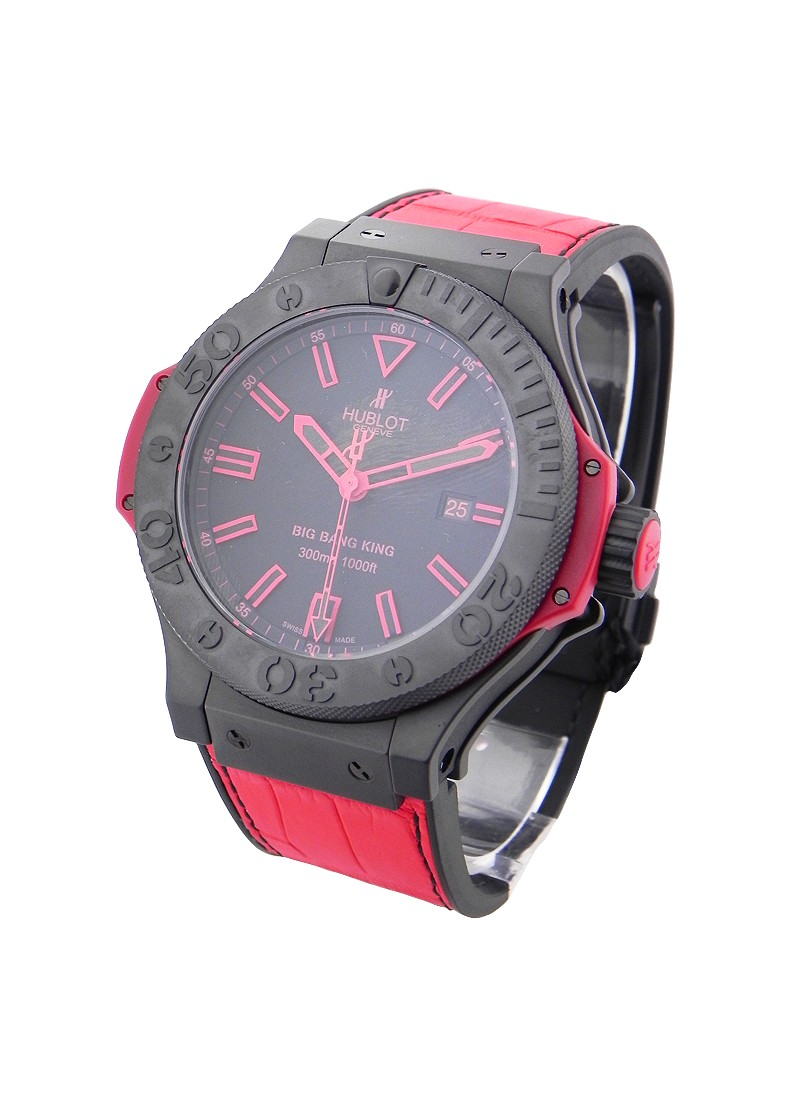 Hublot Big Bang King All Black Red in Black Ceramic