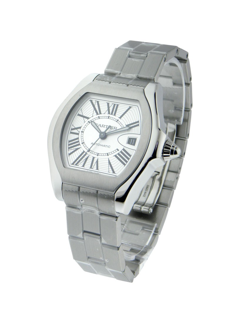 Cartier Roadster Mens New Style in Steel