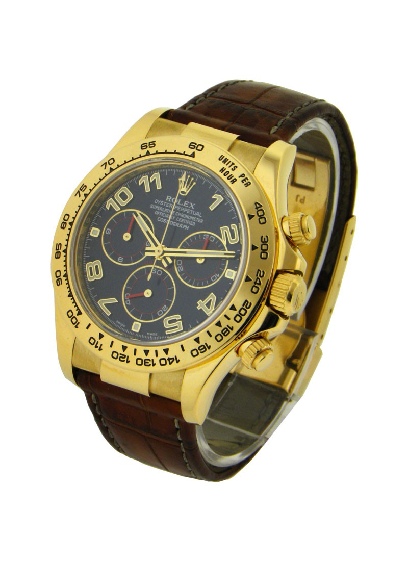Rolex Used Yellow Gold DAYTONA on Strap  116518