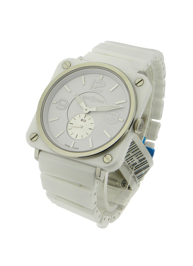 Brs White Ceramic Phantom Bell Amp Ross Brs Quartz White