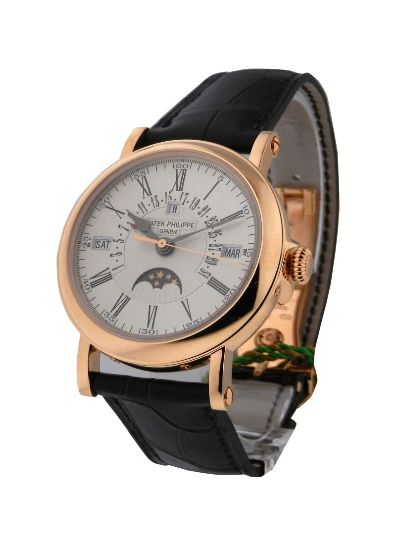 Patek Philippe Perpetual Calendar Retrograde 38mm Automatic in Rose Gold