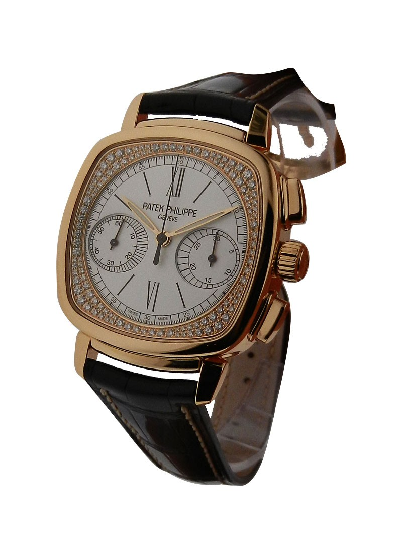 Patek Philippe 7071R Lady's First Chronograph with Diamond Flange Dial