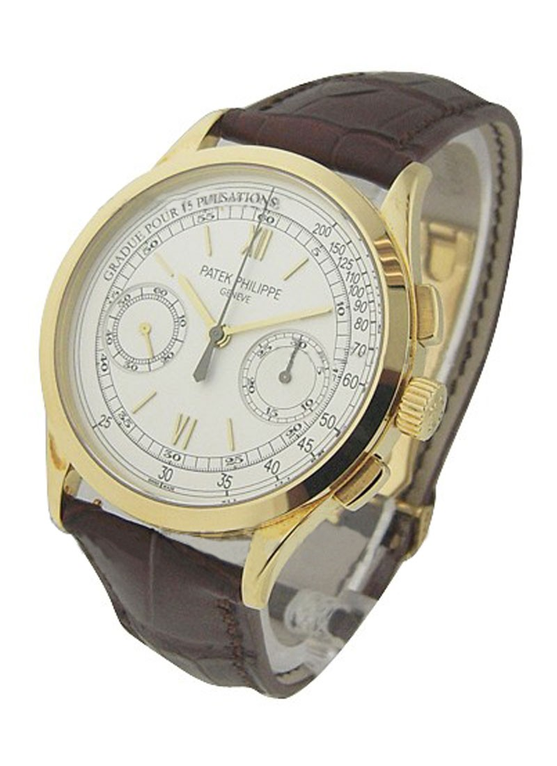 Patek Philippe Complicated Ref 5170J Chronograph in Yellow Gold