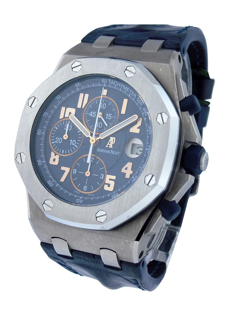 Audemars Piguet Royal Oak Offshore  Pride of Argentina in Titanium with Steel Bezel