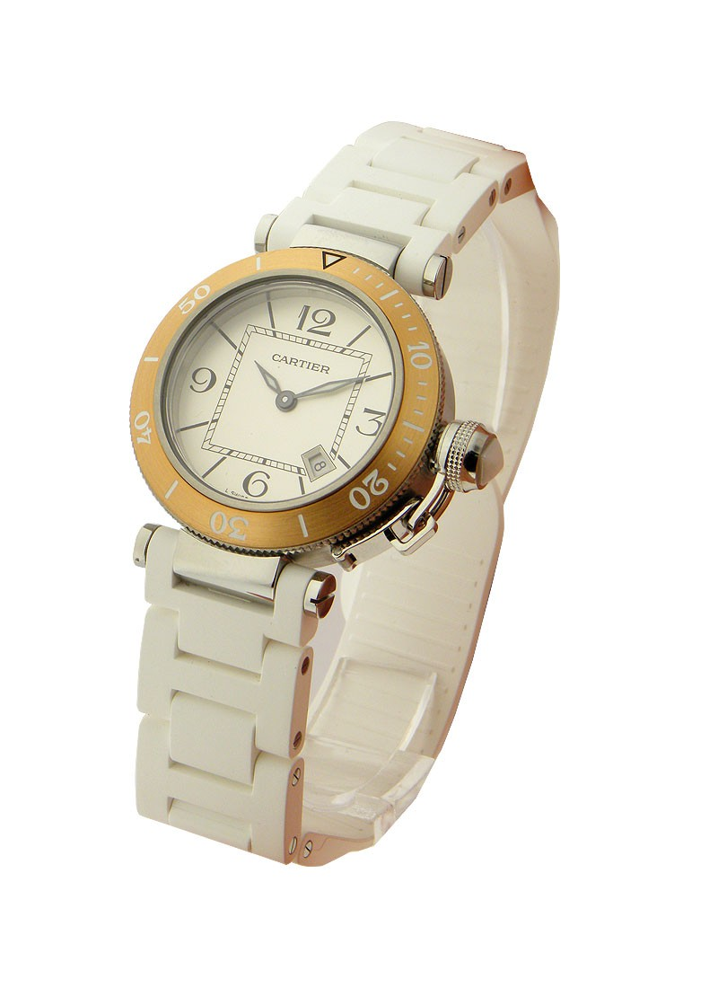Cartier Pasha Seatimer  - Ladies Size
