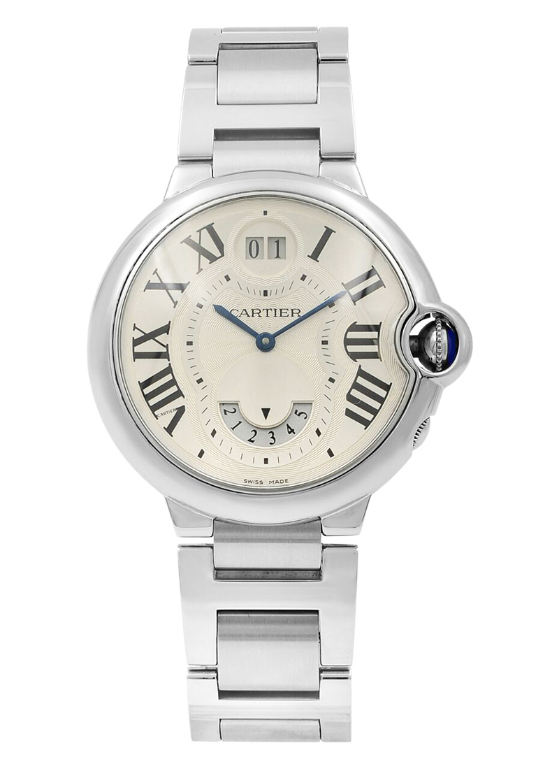 Cartier Ballon Bleu - Large Size 2 Time Zone