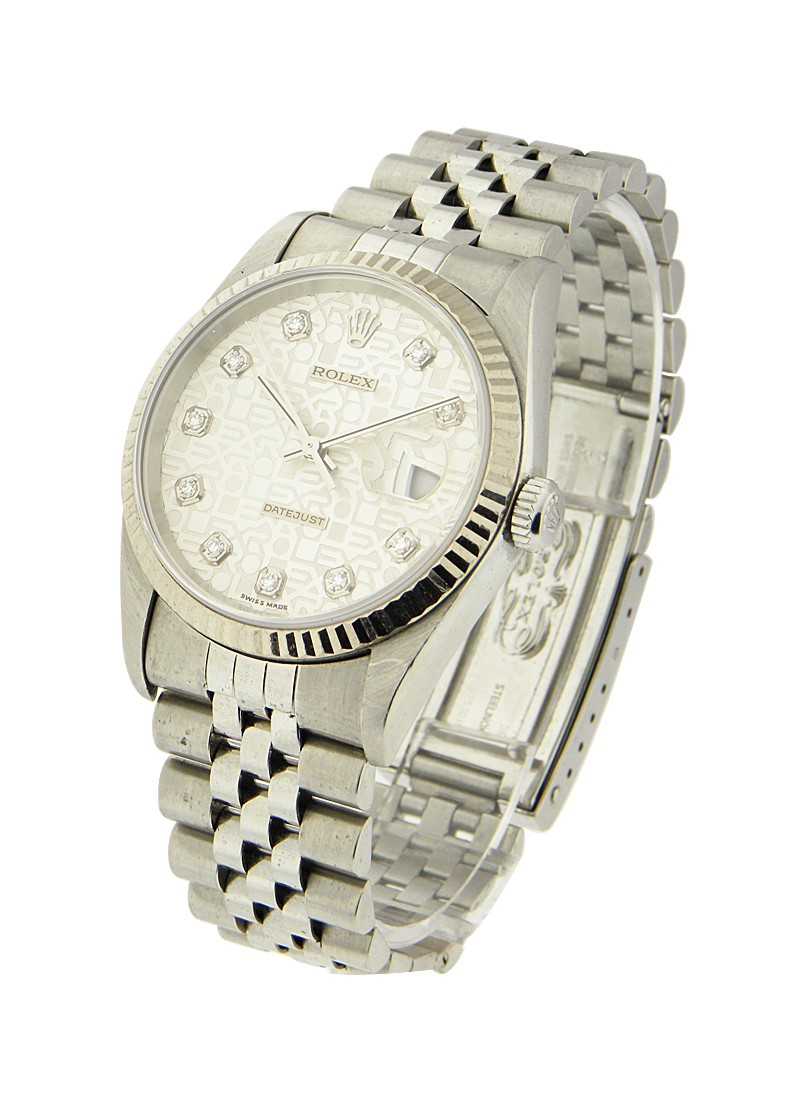 Rolex Used  Men's Steel Datejust with Jubilee Bracelet