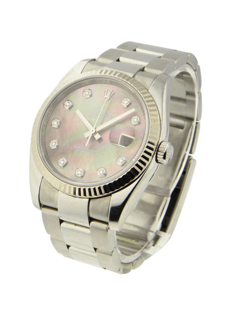 Rolex Used Mens Datejust with Oyster Bracelet 116234