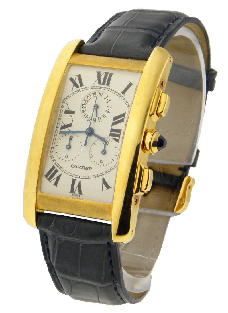 Cartier Tank Americaine - Chronograph