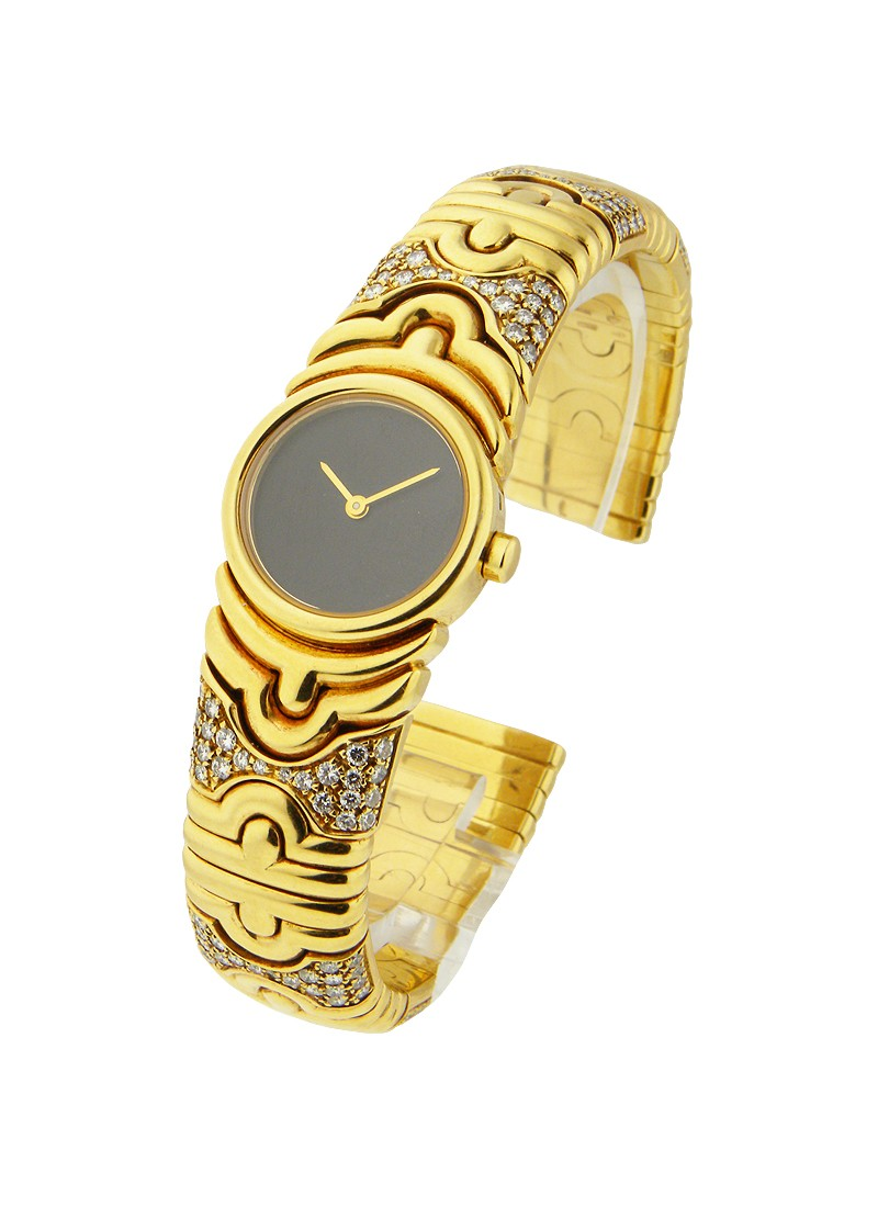 Bvlgari Yellow Gold Parentesi Bangle