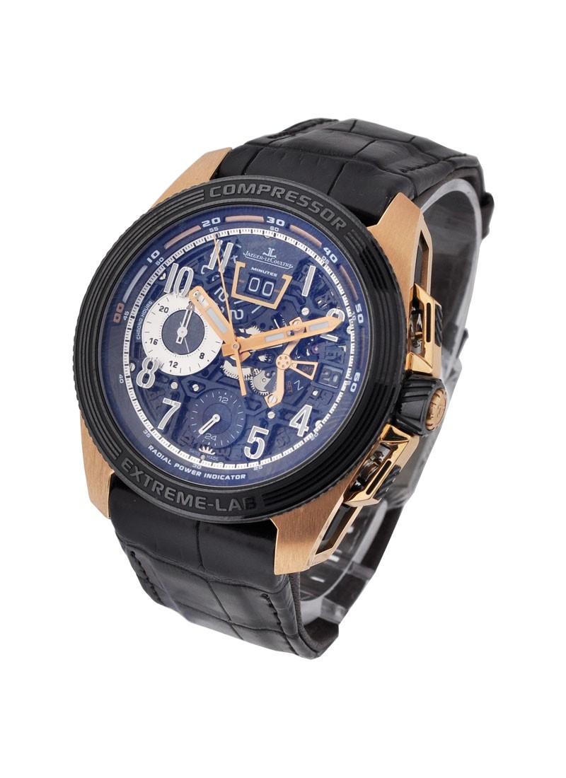 Jaeger - LeCoultre Master Compressor Extreme 46.8mm Automatic in Rose Gold- Lab 2