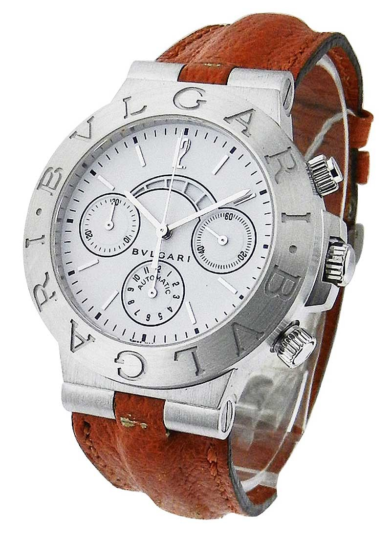 Bvlgari Diagono Regatta Chronograph in White Gold