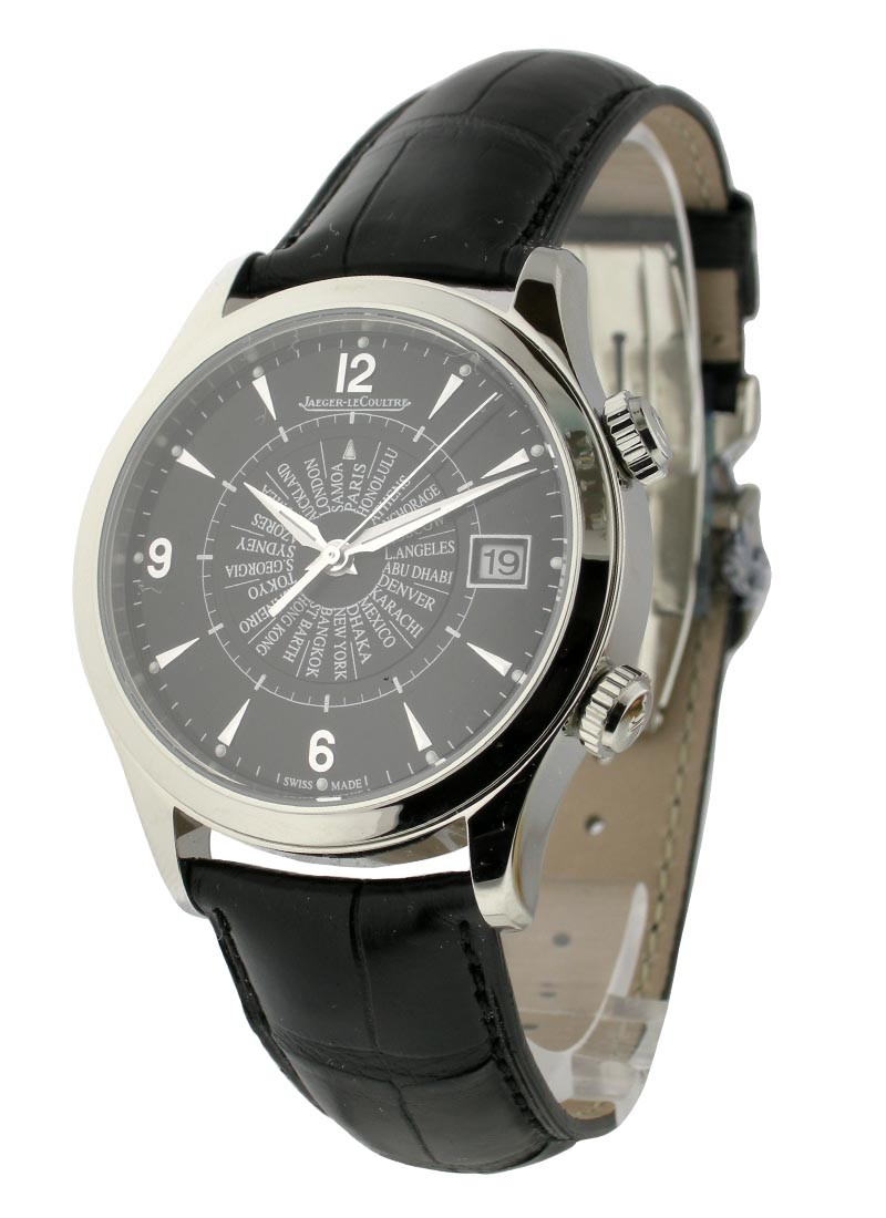 Jaeger - LeCoultre Master Memovox International in Steel