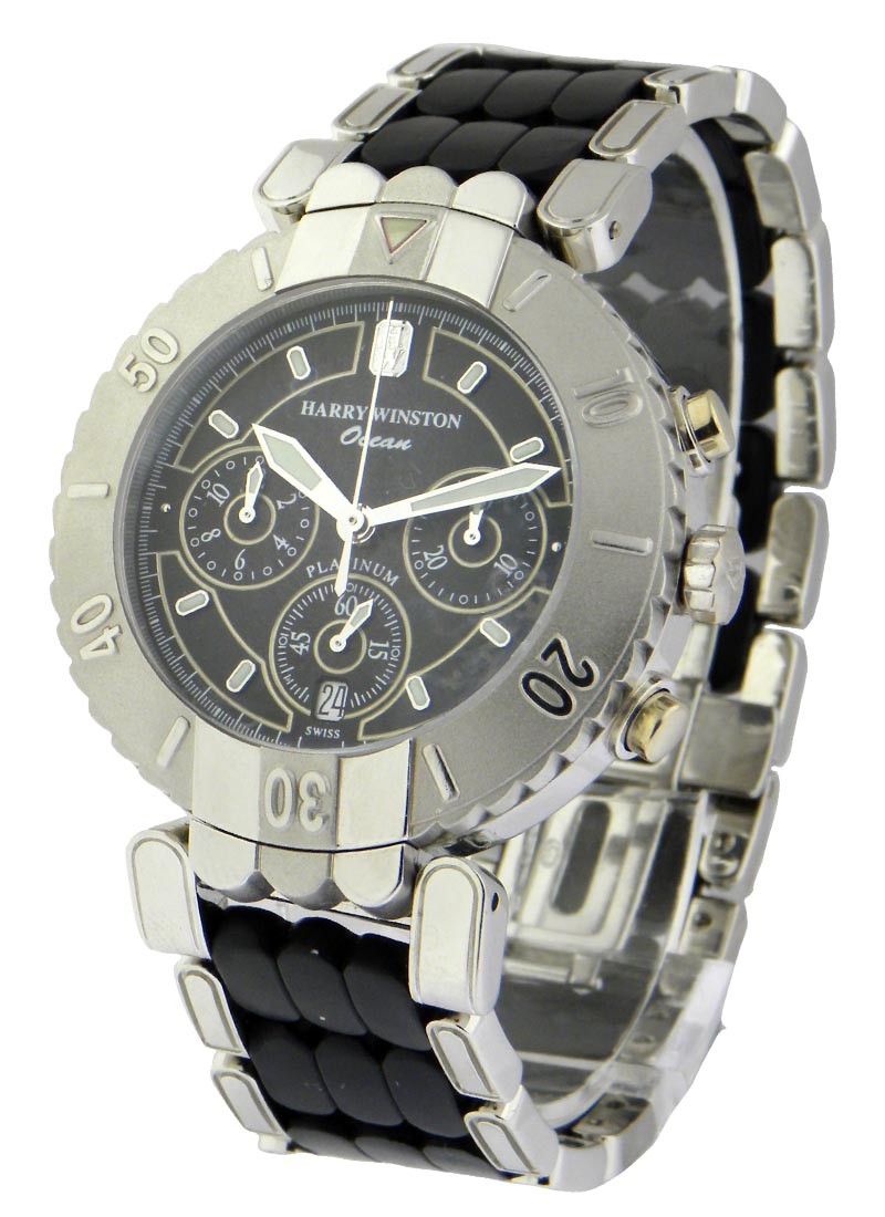 Harry Winston Ocean  Chrongraph - Platinum