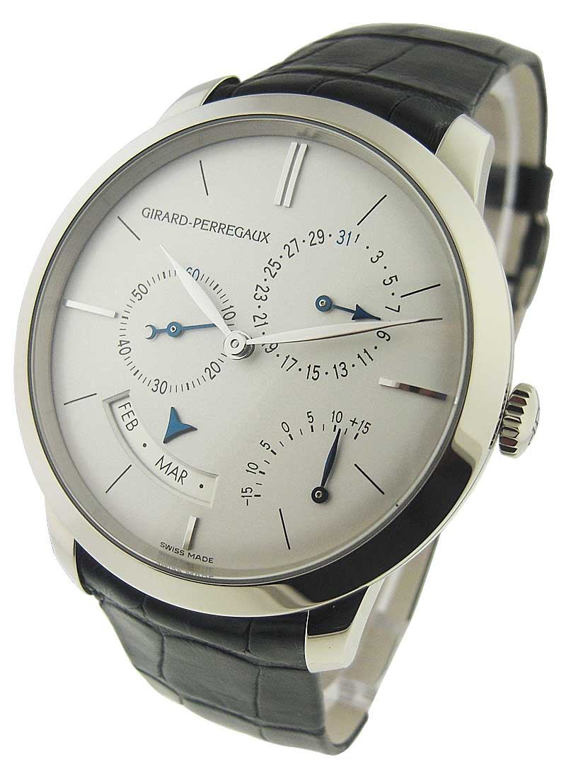 Girard Perregaux 1996 Annual Calendar Equation in Time 40mm Autoamtic in White Gold
