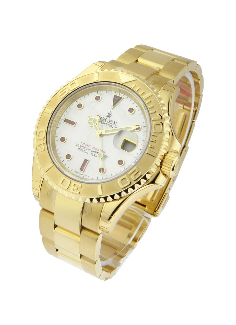 Rolex Used Yachtmaster Large Size in Yellow Gold