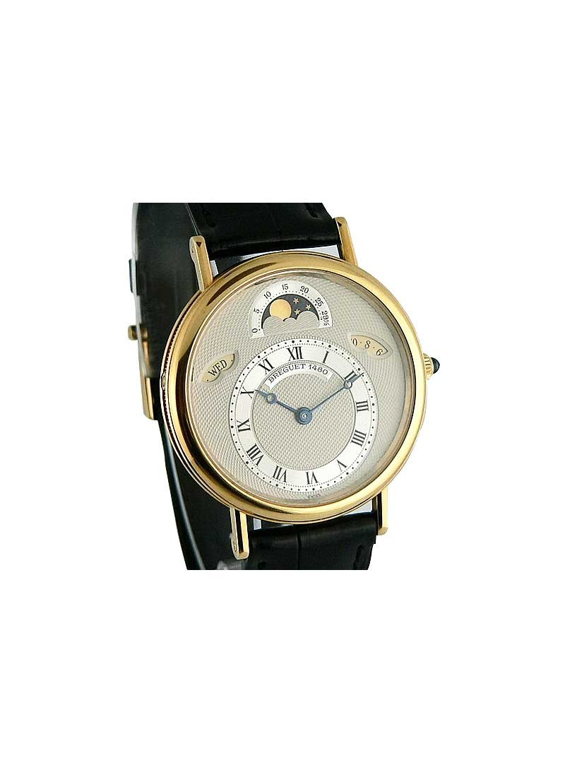 Breguet Classique Day Date Moonphase  Yellow Gold Ref 3330