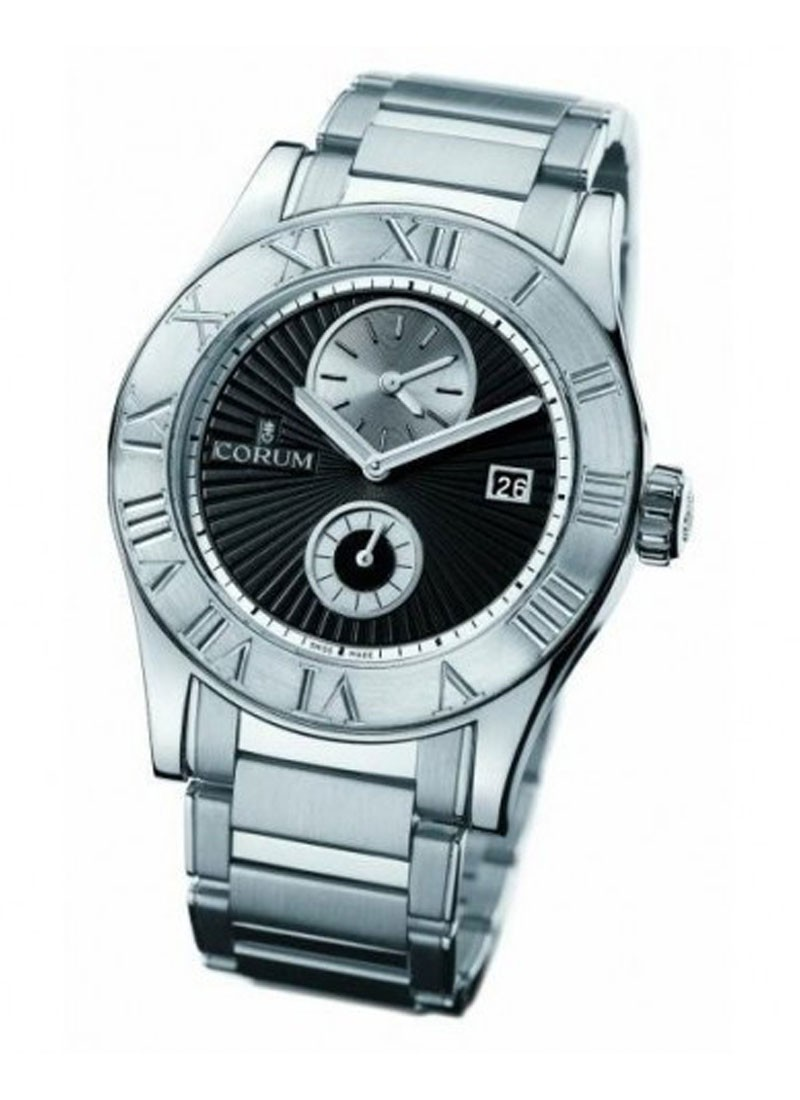 Corum Romulus Dual Time in White Gold